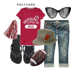 Football season is here! - Wrong Colors - but cute outfit!!