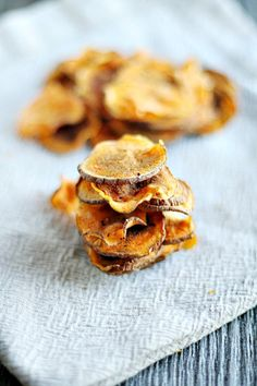 Guilt Free Sweet Potato Chips - I. The microwave- Heather's French Press