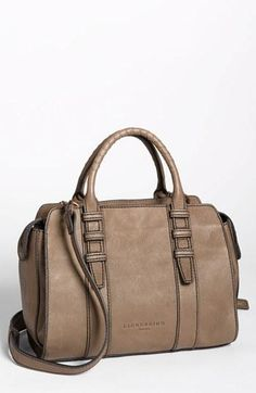 This fall Liebeskind satchel has a vintage feel.