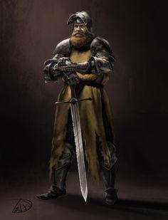 Hairy knight