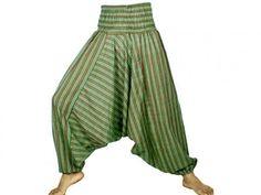 Wide harem trousers by Hippy Buddy - Oasis market, Birmingham Outfits 2016, Fashion Outfits, Aladdin Pants, Drop Crotch Pants, Harem Trousers, Hippie Outfits, Tye Dye, Stripes Design, Wholesale Clothing