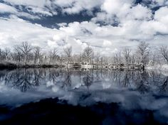 Ternavasso Lake Italy infrared color and by StegoPhotoStore, €7.90
