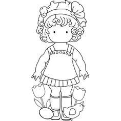 Diddybag Set 1896 - Easter Matilda
