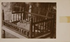 Rudyard Kipling as a baby in his cot in Bombay, India: 1866 Story Writer, If Rudyard Kipling, Albert Camus, Mandalay, Cot, Vintage Photos, India, Baby, Authors