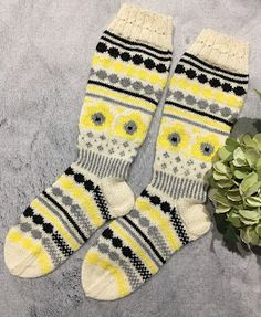 Marimekon Unikkosukat Marimekko, Gloves, Socks, Fashion, Moda, Fashion Styles, Sock, Stockings, Fashion Illustrations