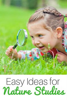 Intimidated by science for your young students? These easy tips for nature study with your toddlers & preschoolers are perfect for budding scientists.