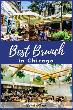Best brunch in Chicago. Looking for the BEST brunch in Chicago? Whether you're craving healthy or hearty, veggies or protein, cozy or glam, I have a spot for you! Chicago Restaurants Best, Best Brunch Chicago, Chicago Blog, Chicago Lake, Chicago Coffee Shops, Best Brunch Places, Brunch Spots, Amazing Destinations, Foodie Travel