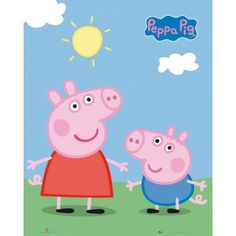 peppa_pig_peppa_and_george_mini_poster_raw.jpg (600600) Check out the website for more