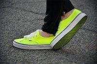 Vans Neon Yellow Trainers
