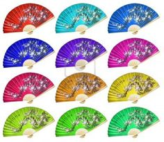 Image detail for -Chinese Fan On The White Background. Chinese Fans, Paper Fans, Photo Backgrounds, Hand Fan, Oriental, Royalty, Bridesmaid, Detail, Image
