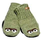 Can't decide between Oscar the Grouch mittens or Grover! Kinda pricey though...    $32.97
