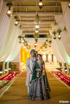 An Ethereal Bangalore Wedding With A Bride In An Emerald Green Wedding Lehenga! An Ethereal Bangalore Wedding With A Bride In An Emerald Green Wedding Lehenga! Anita Dongre, Sherwani, Indian Wedding Couple Photography, Bridal Photography, Photography Photos, Green Lehenga, Indian Lehenga, Indian Bride And Groom, Bride Groom