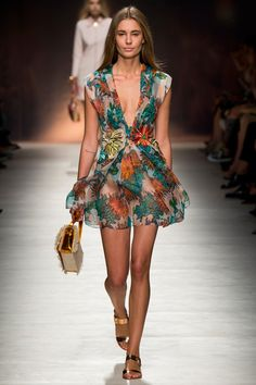 Blumarine Spring 2015. See the entire collection on Vogue.com.