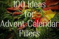 100 Ideas for Advent Calendar Fillers