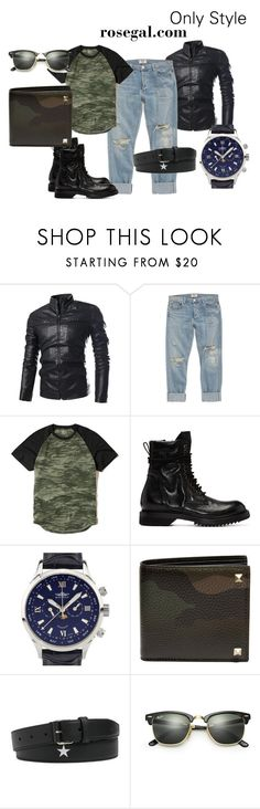 """""""Show Me The King Of Style"""" by evaki-jen ❤ liked on Polyvore featuring AGOLDE, Hollister Co., Rick Owens, Balmer, Valentino, Givenchy, Ray-Ban, men's fashion and menswear"""