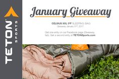 It's never too late to #camp so I'm entering to win a Celsius XXL 0ºF sleeping bag from @Tetonsports  http://woobox.com/p5gior/if2vjl