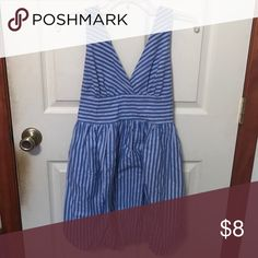 "Striped bubble dress Size small. Dress has elastic at the bottom to create a ""bubble"" shape when worn. Light and fun for summer. Dresses"