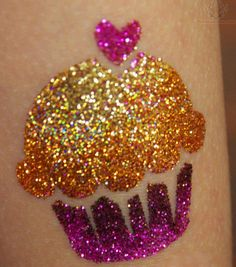 Tiny Glitter Tattoos — Crafthubs