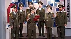 Members of a Russian Army band went on television to sing their version of Adele's hit single Skyfall from the James Bond film of the same name.