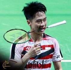 Badminton Photos, Tennis Racket, Athlete, Sports, Bts Taehyung, Minions, Ulzzang, Boyfriend, Husband
