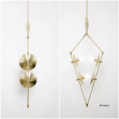 From Prodeez Product Design: Arrow Pendant Lamp by Studios PGRB. #furniture #lamp #arrow #brass #creative #design #ideas #designer #studiopgrb #interior #interiordesign #product #productdesign #instadesign #furnituredesign #prodeez #industrialdesign #architecture #art #style