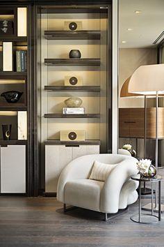 For comfort and relaxation. #SLD #SteveLeung #Shanghai #OneParkShanghai #Residential #Interior #Comfort #Relaxation