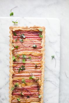 You will love this rhubarb and brown butter tart. The tart rhubarb is balanced by the rich browned butter filling all held together by a tender crust....