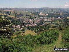 Walk Picture/View: Bradwell from Durham Edge (Abney Moor) in The Peak District, Derbyshire, England by Russell Hubbard Peak District, Derbyshire, Durham, Battle, Destinations, England, River, Holidays, Pictures