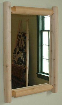Rustic Decor Log Furniture- good use of my diamond willows.-Master Bedroom
