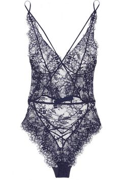 Navy floral-lace Snap fastenings at base 59% viscose, 41% polyamide; lining: 100% cotton Hand wash