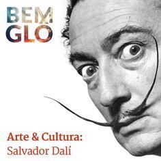 Hoje falamos sobre Salvador Dalí, o inconfundível artista surrealista.  Vem com a gente e confira! ;) #bemglo #arteecultura #salvadordali