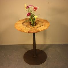 Hollow Log Bistro Table #2