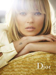 Kate Moss - Wrist Anchor Tattoo