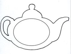 Printable Mothers Day Teapot Card Template Mother Day Craft Tea Bag