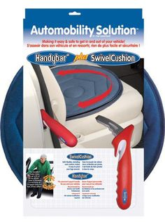 It is hard to explore the world if it is hard to get in and out of a vehicle. The automobility solutions pack is the best solution. The swivel seat allows for swinging legs in and out without twisting and the car handle provides a handle for leverage, like the armrest of a chair. Access the Automobilty pack and other mobility solutions at Ease Living.