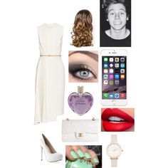 KCA with Luke by zishahoralik on Polyvore featuring polyvore, fashion, style, Victoria Beckham, Chanel, Olivia Burton, Vera Wang, Lipsy and claire's