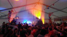 Teltkickoff med konserter, kake og generelt god stemning!