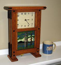 Greene & Greene Clock - The Dale Maley Family Web Site