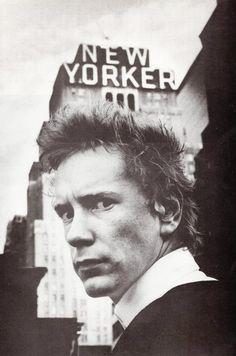 John Lydon (Johnny Rotten) by Anton Corbijn
