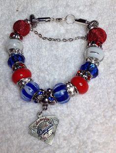 Los Angeles Dodgers Bracelet - $25