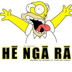 Hē Ngā Rā They're crazy