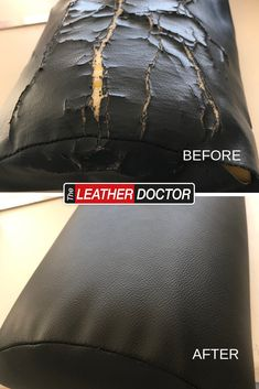 This half roll from an Osteopath practice had seen better days! With a quick re-upholster, it's ready for more clients! Leather Repair, Leather Cleaning, Better Day, Finding Yourself, Bags, Handbags, Taschen, Soul Searching, Purse