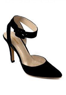 Jual sepatu wanita murah dan berkualitas  CLAYMORE High Heels MZ - 01 Black  Belt 71be1b5f0b