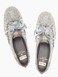 f2664786b9d4 Keds x kate spade new york glitter sneakers