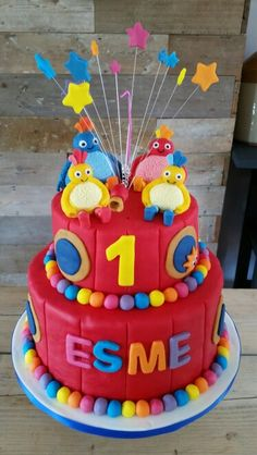 Twirlywoos birthday cake Birthday Cakes For Men, Toddler Birthday Cakes, Birthday Gag Gifts, First Birthday Cakes, 1st Boy Birthday, Birthday Ideas, Birthday Sayings, Birthday Images, Birthday Greetings