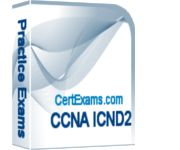 CCNA ICND2 200-105 Exam Simulator with 275+ questions answers with detailed explanation. URL: http://www.certexams.com/cisco/ccna/exam-details.htm  Download link: http://www.certexams.com/download/ccna-simulator-download.htm