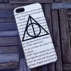 HANDMADE Harry Potter Inspired Deathly Hallows Case! . .  iPhone iPod Phone Android Samsung Galaxy Phone Cases MADE BY HAND  TheSorcerersPhone . .  FOLLOW @TheSorcerersPhone on Instagram!