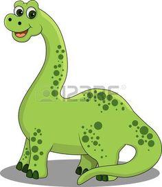 Dinossauro dos desenhos animados photo