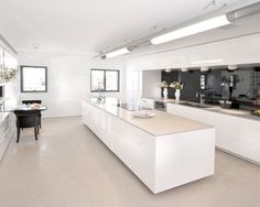 Modern Kitchen White Design, Pictures, Remodel, Decor and Ideas - page 5