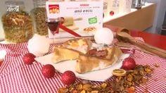ANT1 WEB TV / ΤΗΣ ALFA ΤΑ ΖΥΜΩΜΑΤΑ | ΕΠΕΙΣΟΔΙΑ ΣΕΙΡΩΝ | H Αργυρώ Μπαρμπαρίγου και τα νέα φύλλα της alfa μας ταξιδεύουν στις πίτες της Ελλάδας! Ants, Waffles, Recipies, Greek, Dairy, Cheese, Cooking, Breakfast, Food